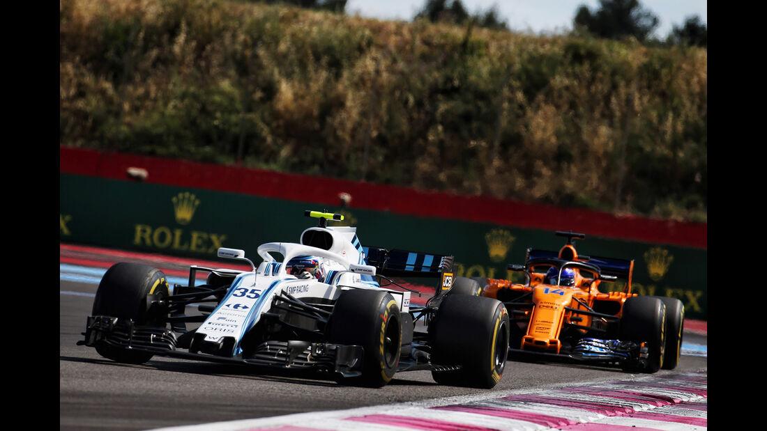 Williams & McLaren - GP Frankreich 2018