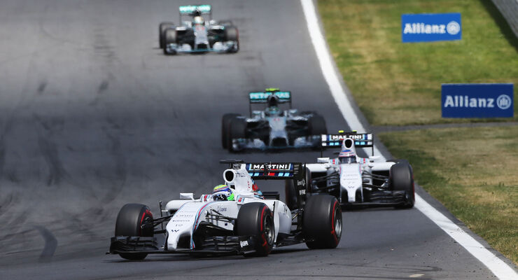 Williams & Mercedes - GP Österreich 2014