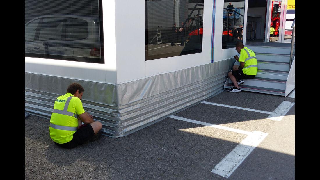 Williams - Motorhome - GP Spanien 2015 - Barcelona