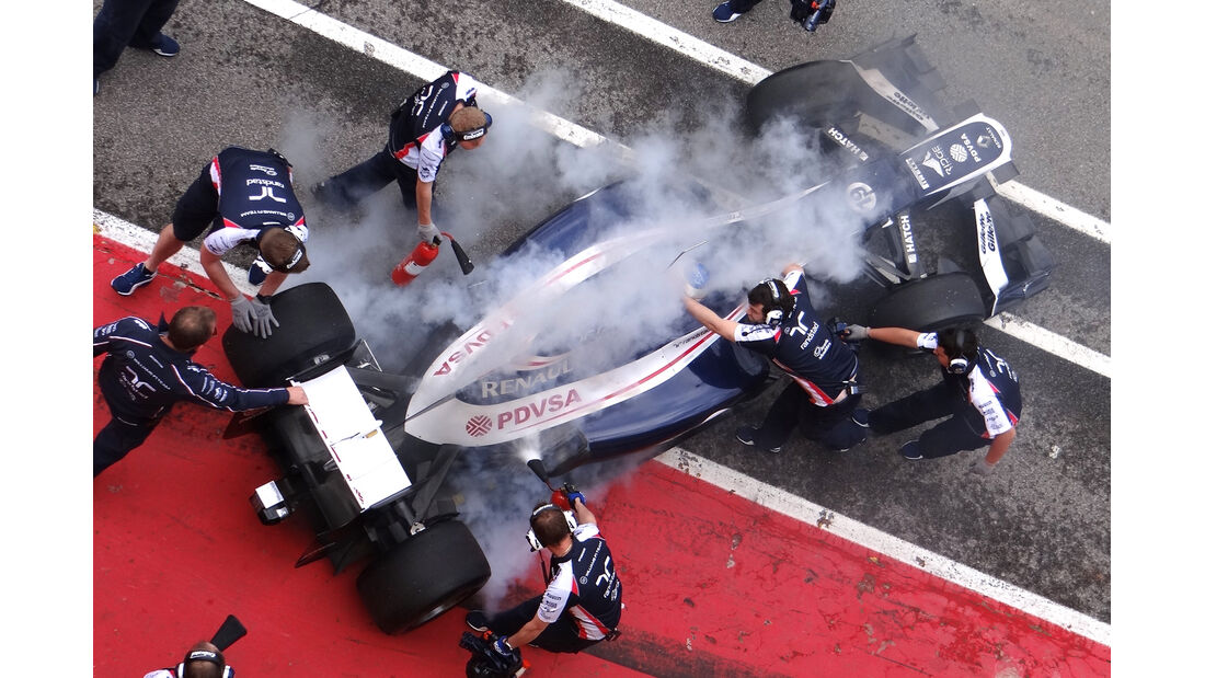 Williams Mugello 2012 Formel 1 Technik