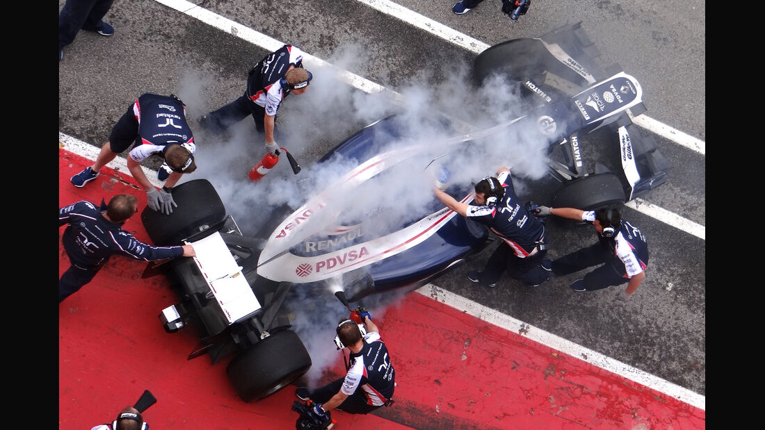 Williams Mugello 2012 Formel 1 Technik