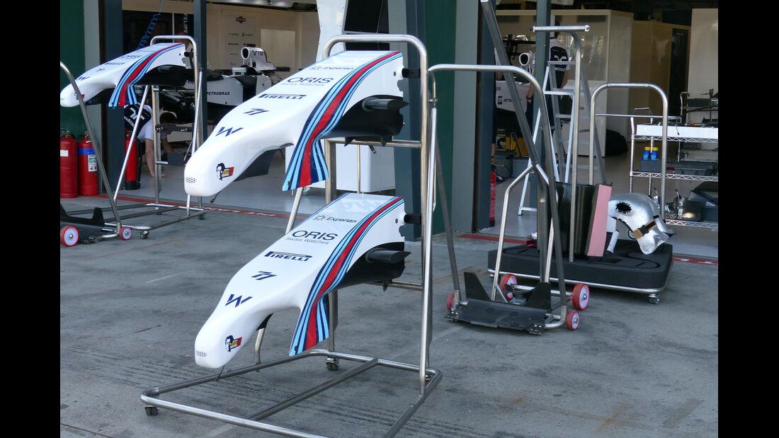 Williams Nase - Formel 1 - GP Australien - 12. März 2014