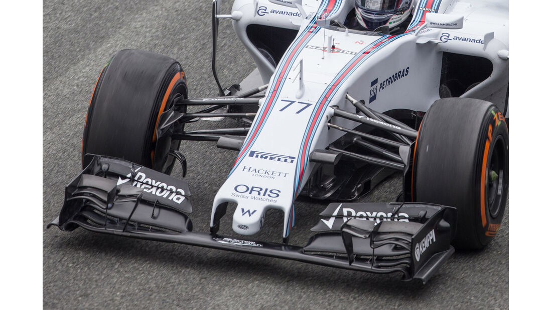 Williams - Nasenkamera - Jerez - 2015