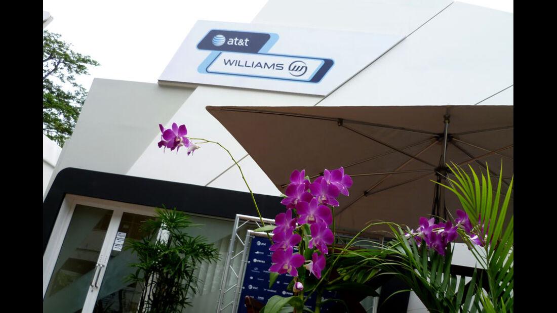 Williams-Pavillon - GP Singapur - 22. September 2011