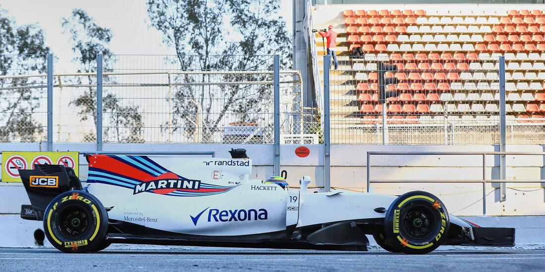 Williams - Profil - F1 - Barcelona Test 2017