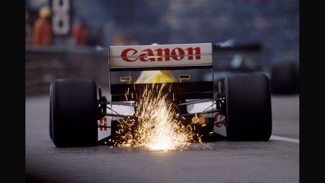 Williams-Renault - 1989 - GP Monaco