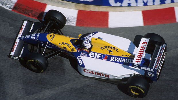Williams-Renault - 1993 - GP Monaco