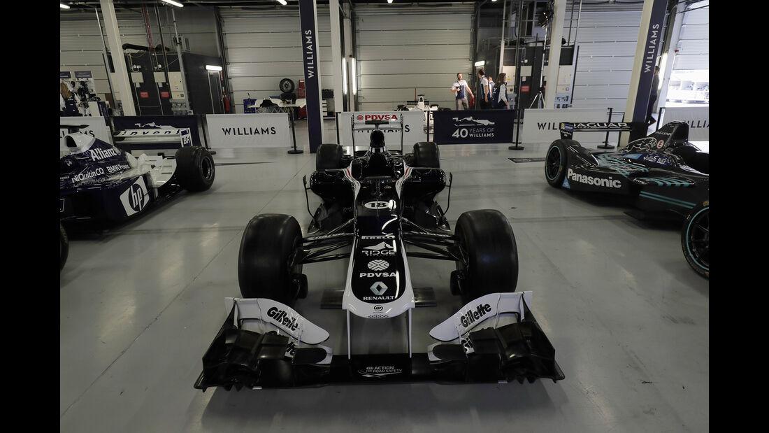 Williams Renault FW34 - Williams-Jubiläum - Silverstone - 2017