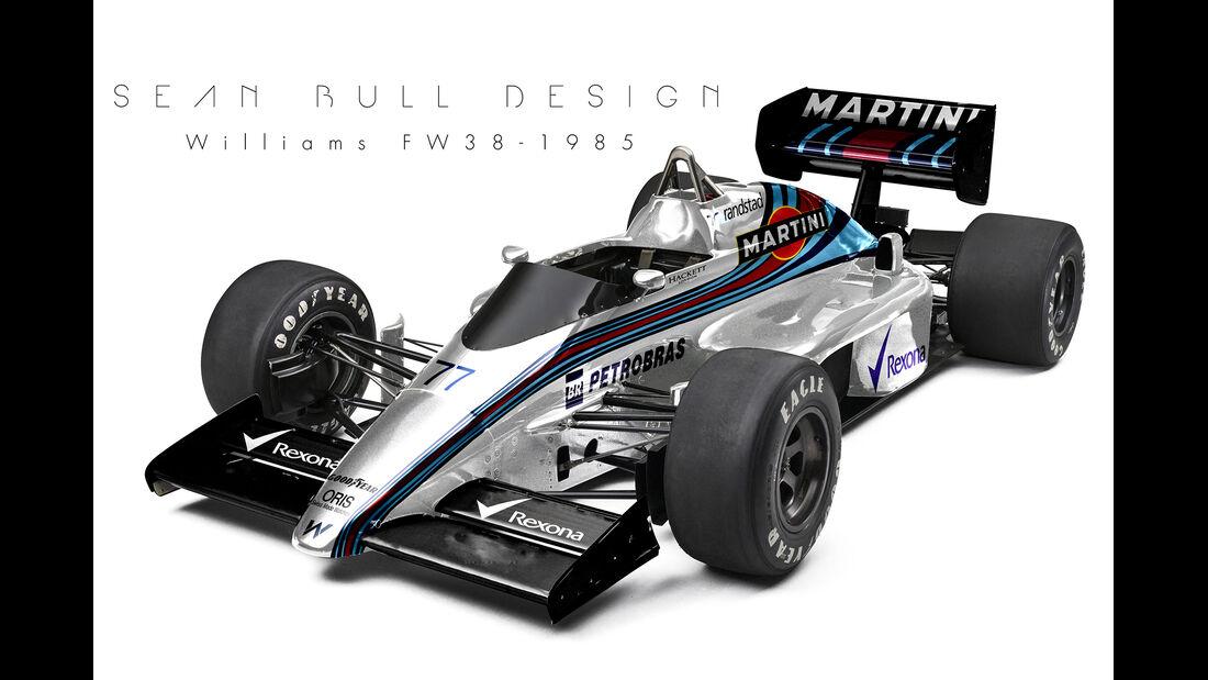 Williams - Retro F1 - Sean Bull