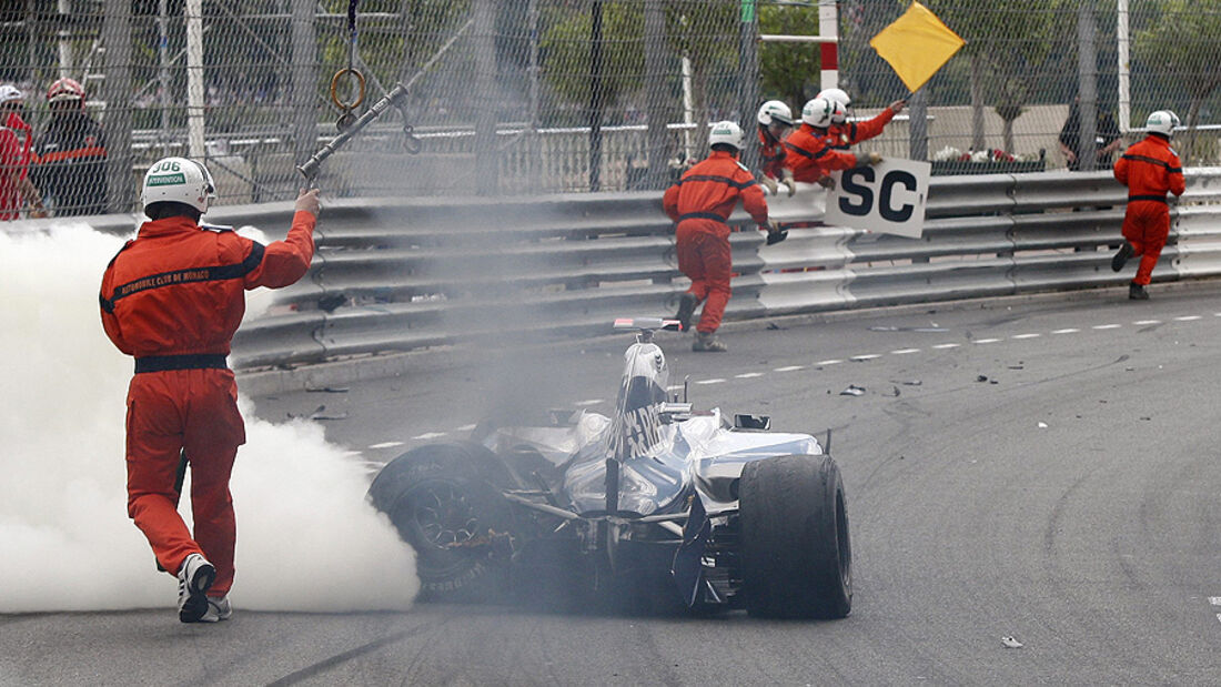 Williams, Rubens Barrichello, GP Monaco