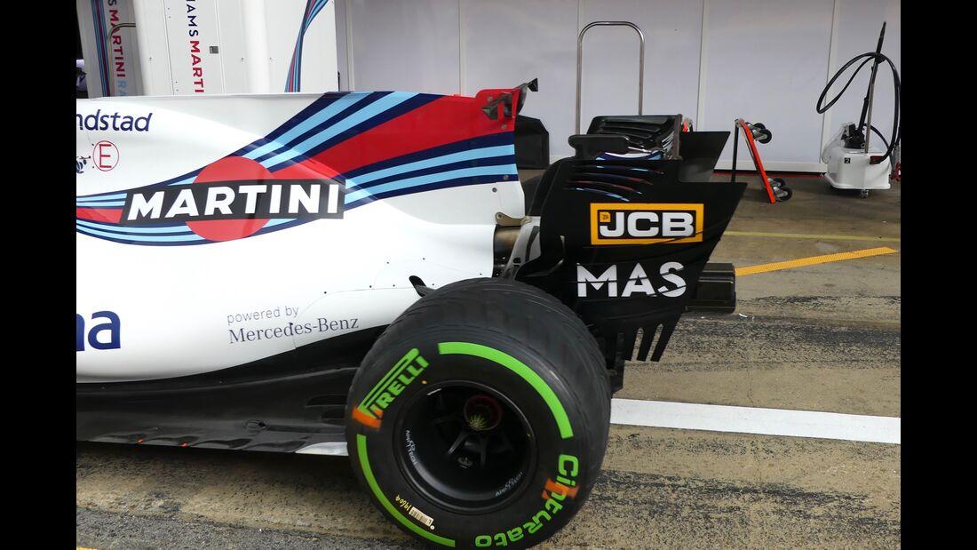 Williams - Startnummern - Formel 1 - GP Spanien - 11. Mai 2017