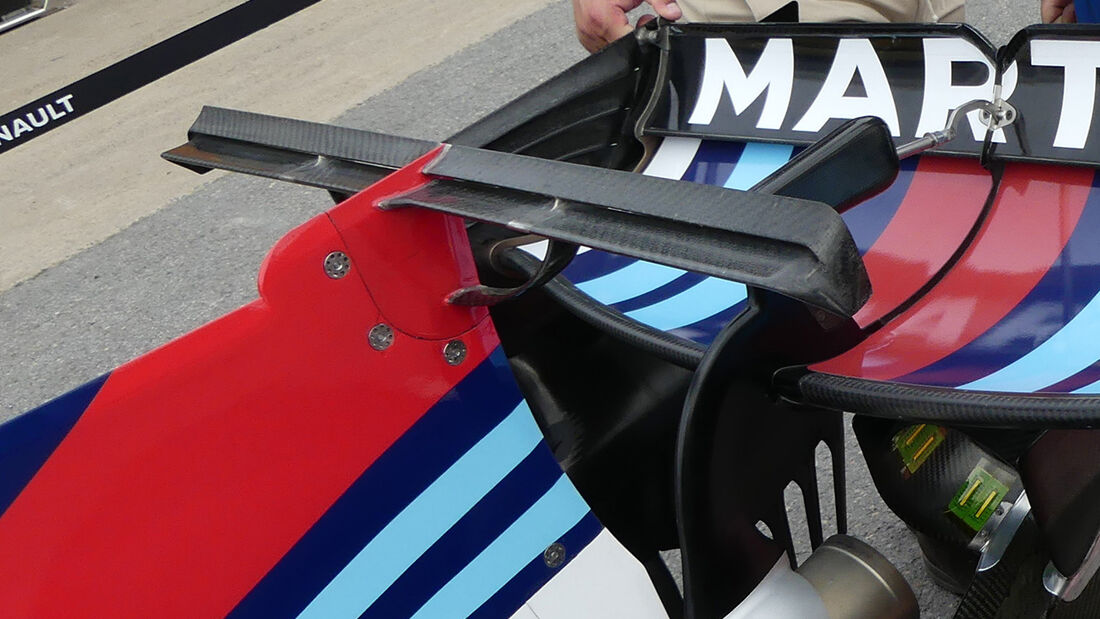 Williams - T-Flügel - 2017