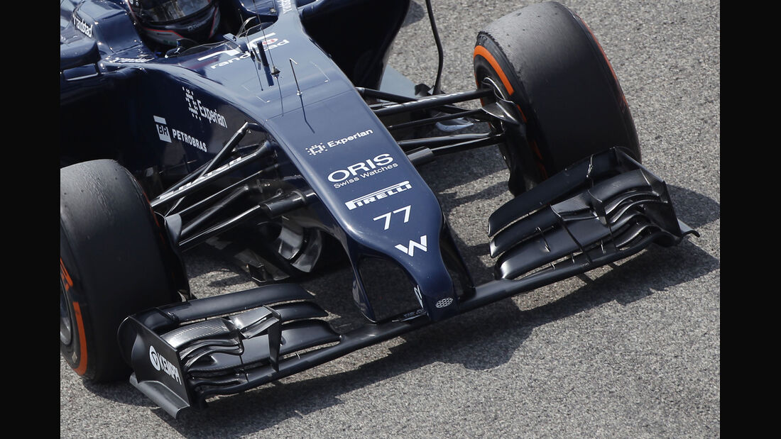 Williams - Technik - Bahrain Test 2 - 2014