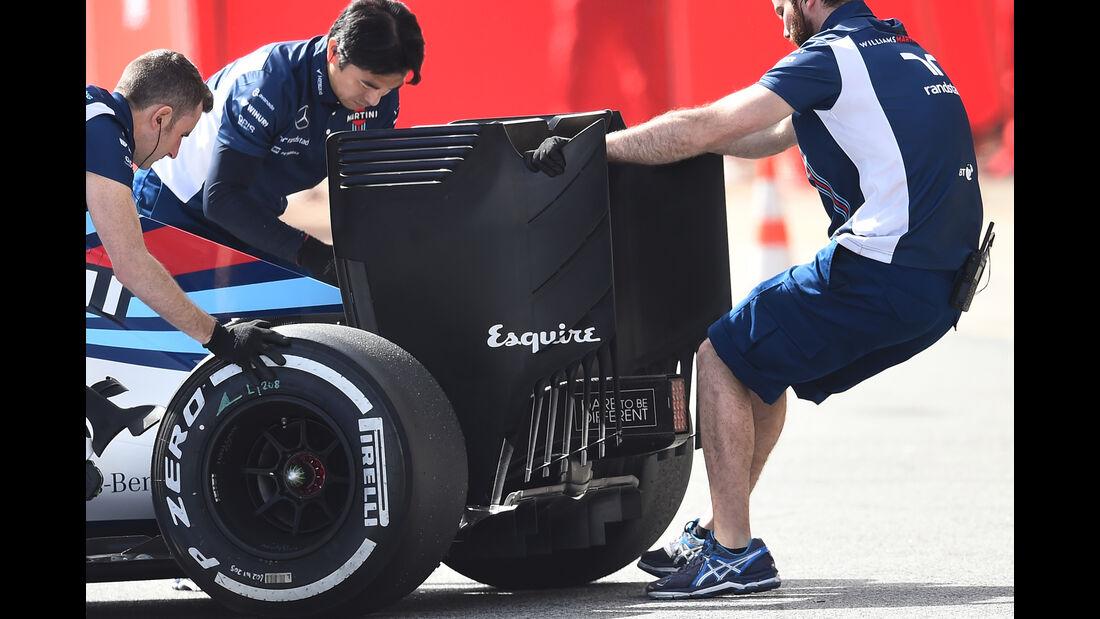 Williams - Technik - Barcelona Tests - 2016