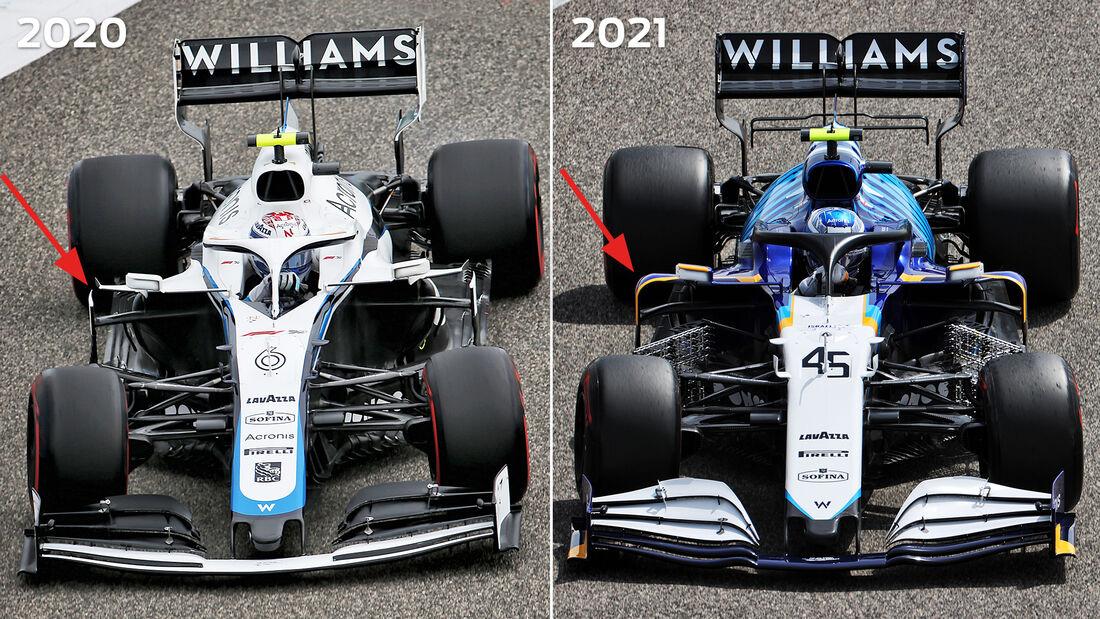 Williams - Technik-Details - Formel 1 - 2021