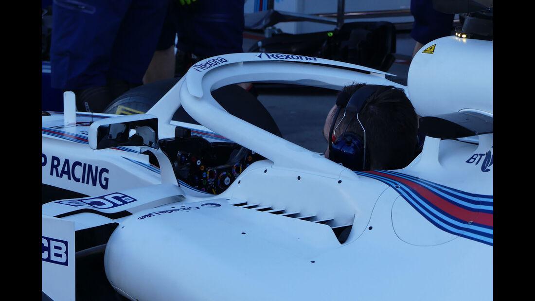 Williams - Technik-Details - GP Australien 2018 - Melbourne