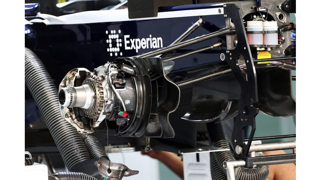 Williams Technik - Formel 1 - GP Bahrain - 19. April 2013