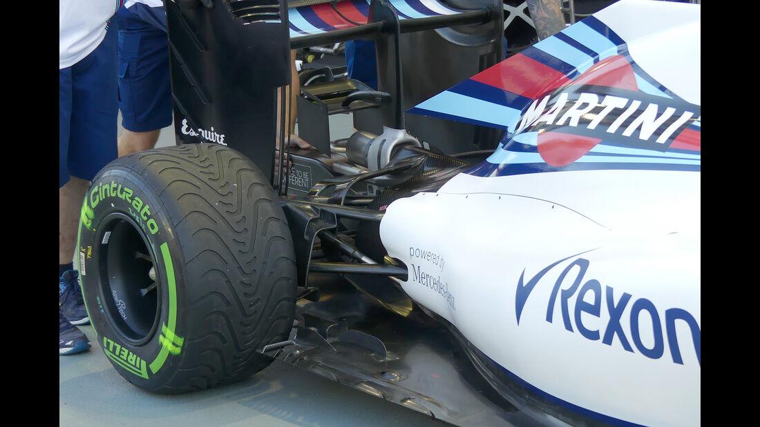 Williams - Technik - Formel 1 - GP Singapur 2016