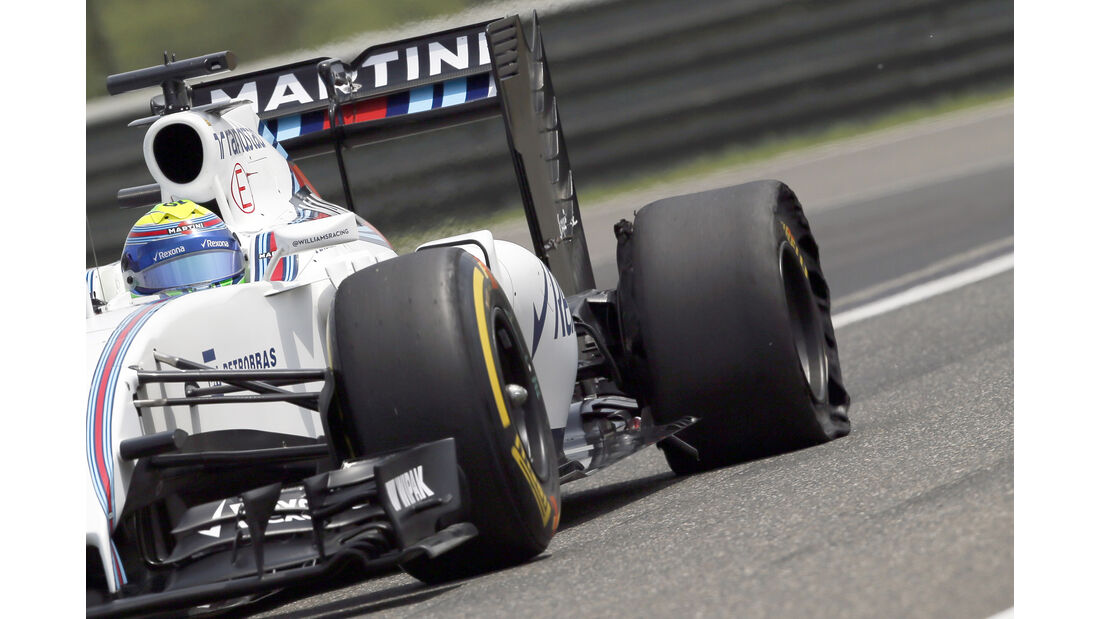 Williams - Technik - GP China 2016