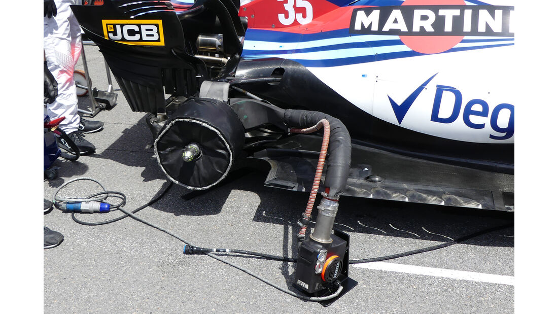 Williams - Technik - GP Kanada 2018
