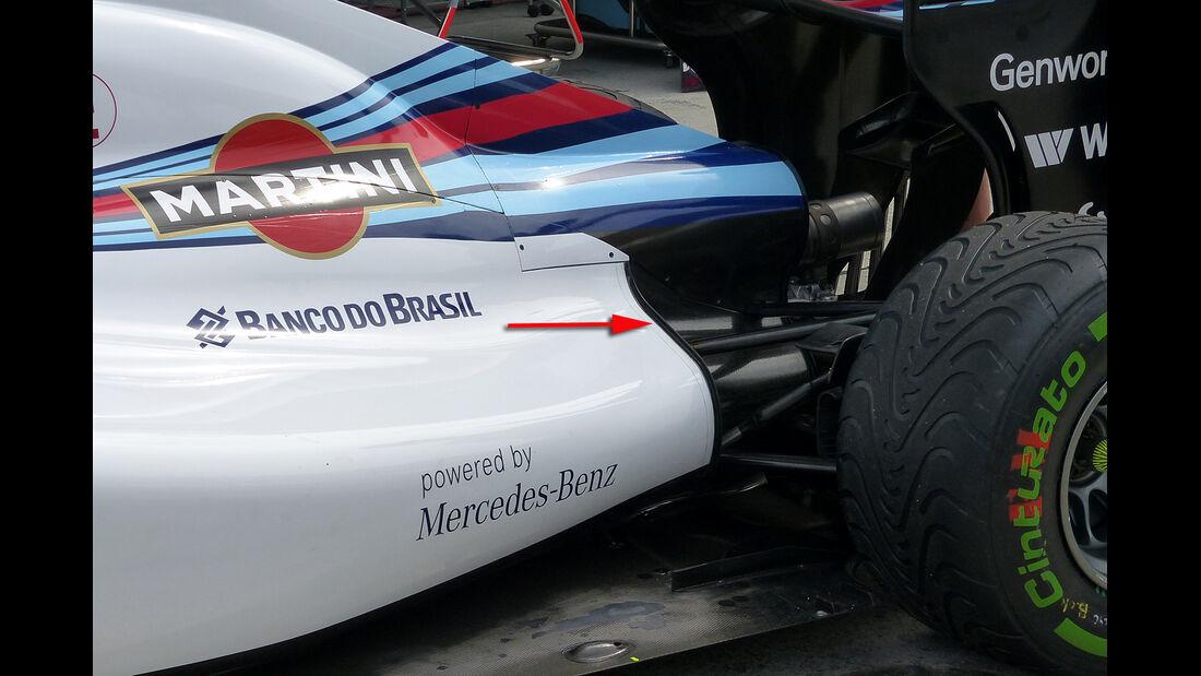 Williams - Technik - GP Malaysia 2014