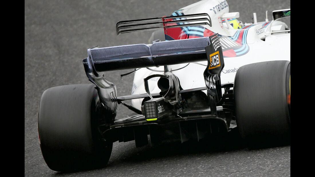 Williams - Technik - GP Malaysia / Japan 2017