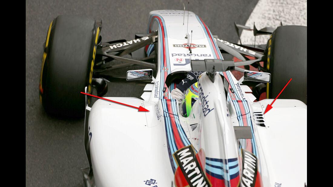 Williams - Technik - GP Monaco 2014