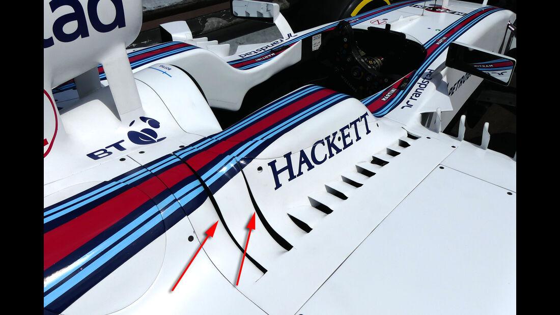 Williams - Technik - GP Monaco 2016