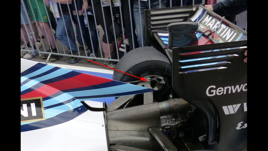 Williams - Technik - GP Österreich 2014