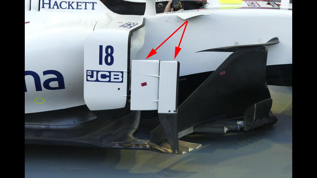Williams - Technik - GP Singapur 2017