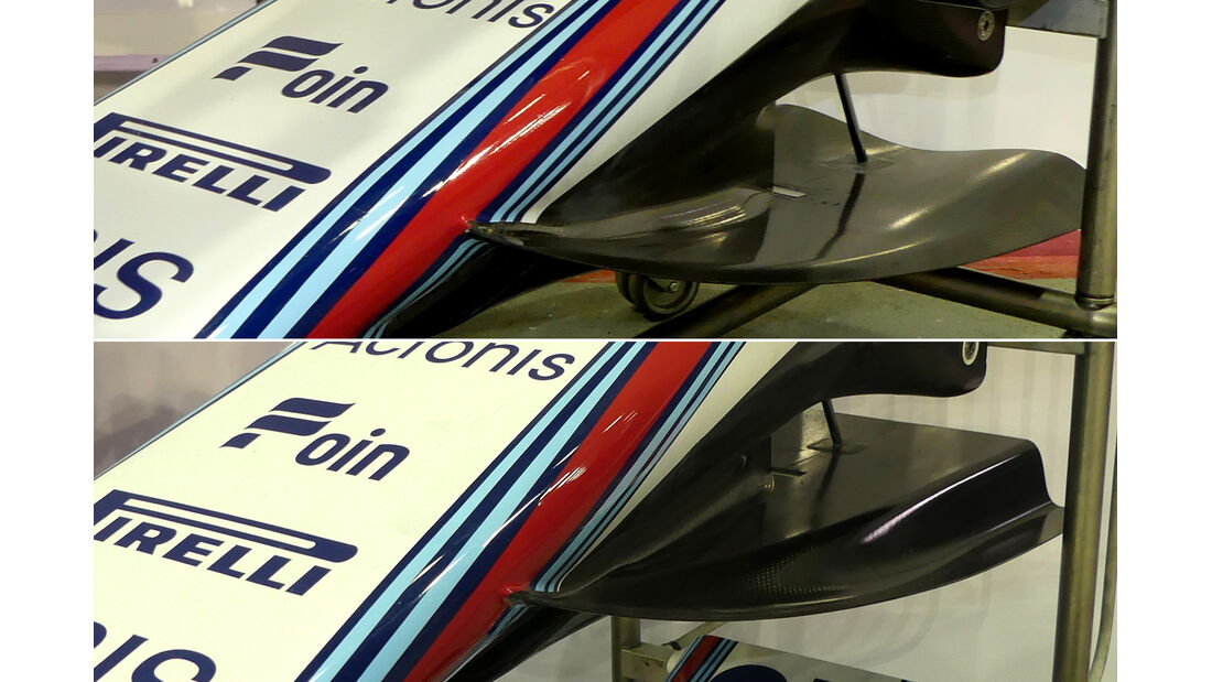 Williams - Technik - GP Singapur, Russland & Japan 2018