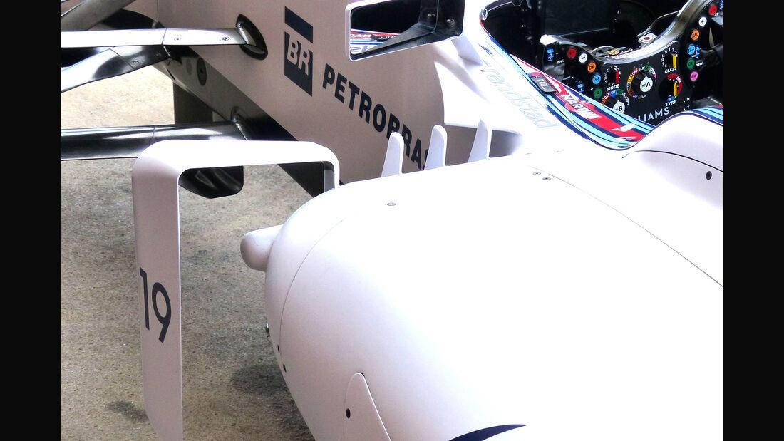 Williams - Technik - GP Spanien 2015