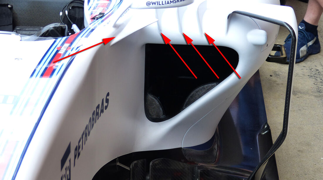 Williams - Technik - GP Spanien 2015