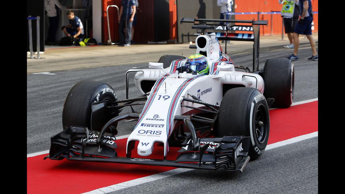 Williams - Technik - GP Spanien 2016