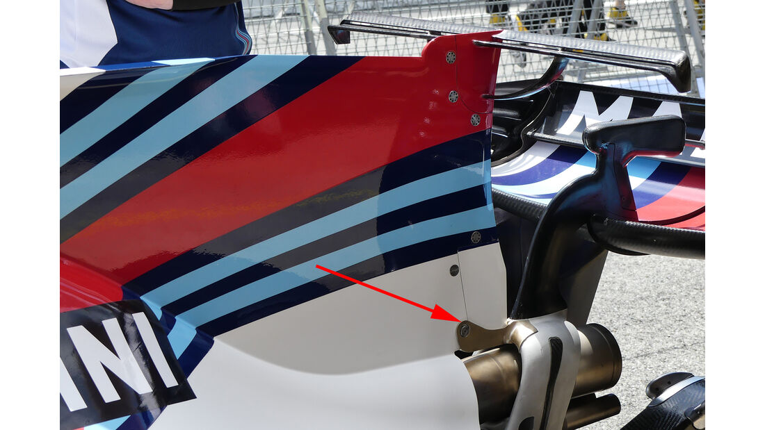 Williams - Technik - GP Spanien 2017