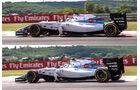 Williams - Technik - GP Ungarn/GP Deutschland 2014