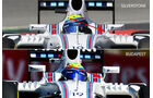 Williams - Technik-Updates - Ungarn / Deutschland - 2016