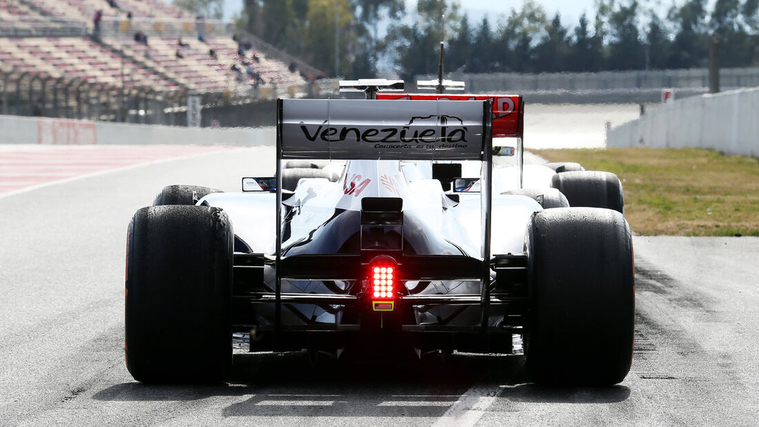 Williams Test Barcelona 2013
