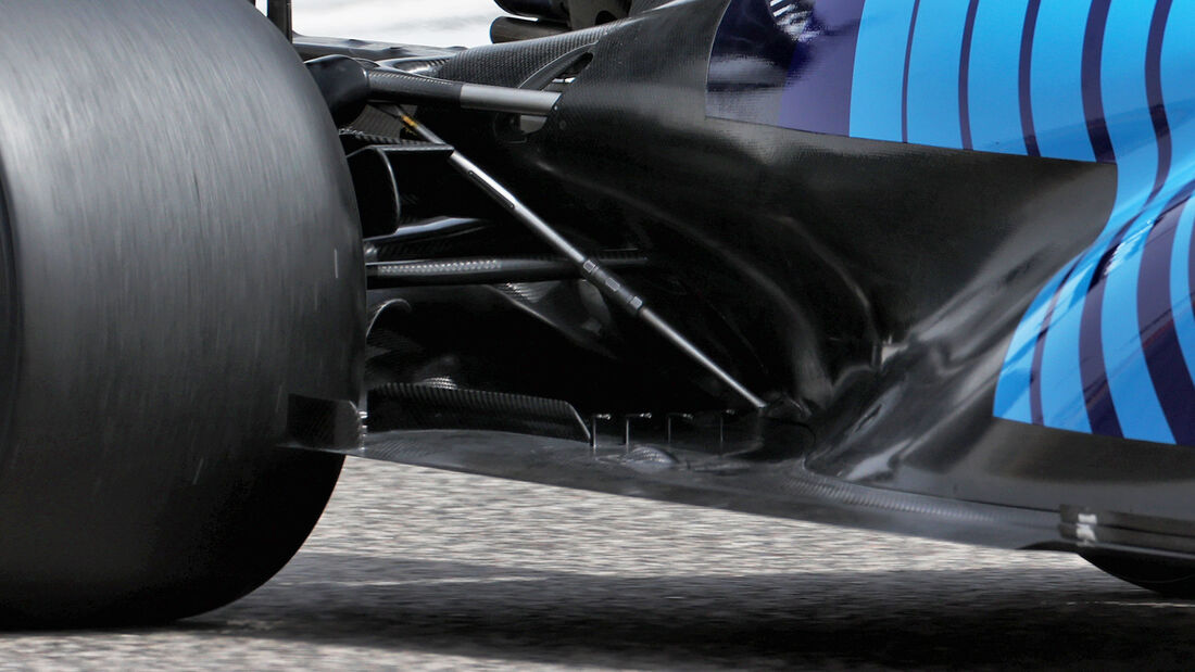 Williams - Unterboden - F1-Test - Bahrain - 2021