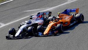 Williams vs. McLaren - GP China 2018