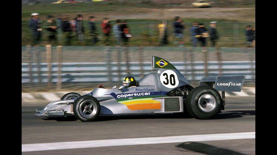 Wilson Fittipaldi- Copersucar-Fittipaldi FD03 - GP USA 1975