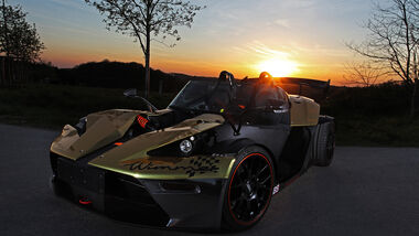 Wimmer RST-KTM X-Bow GT, Tuning, Gold Edition, Dubai