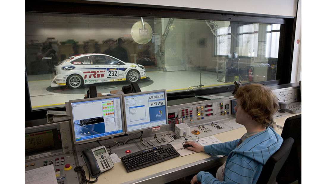Windkanal FH Köln Motorsport Ford Focus RS VLN