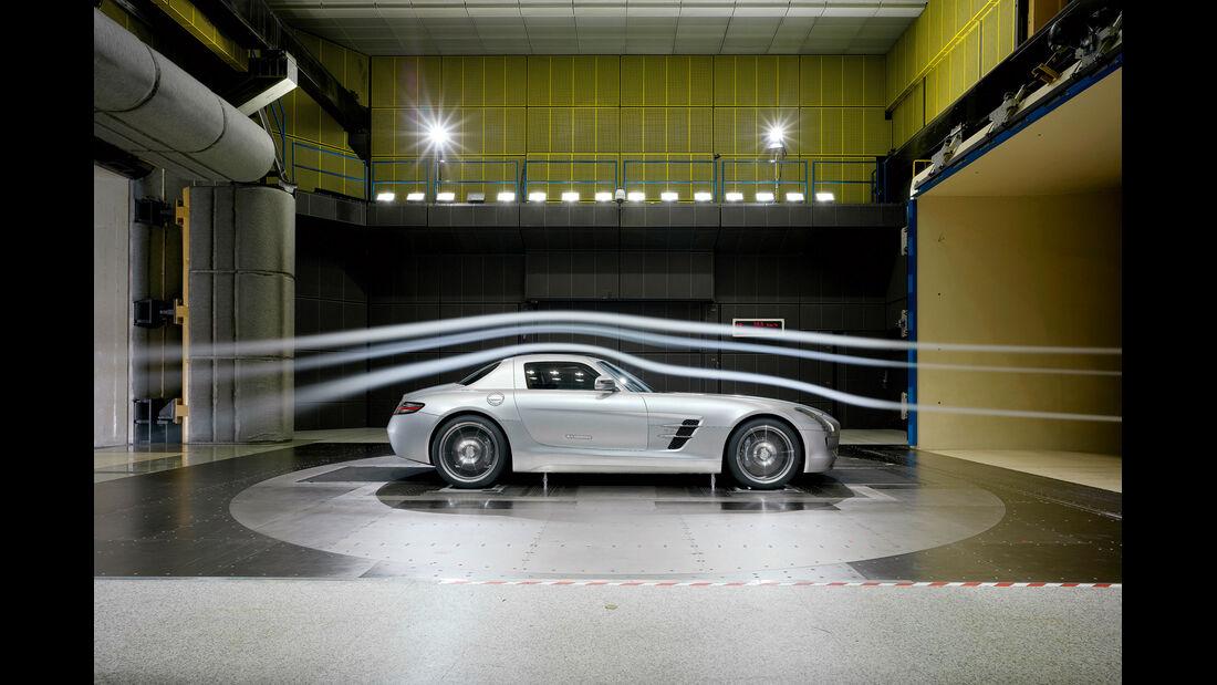 Windkanal, Mercedes
