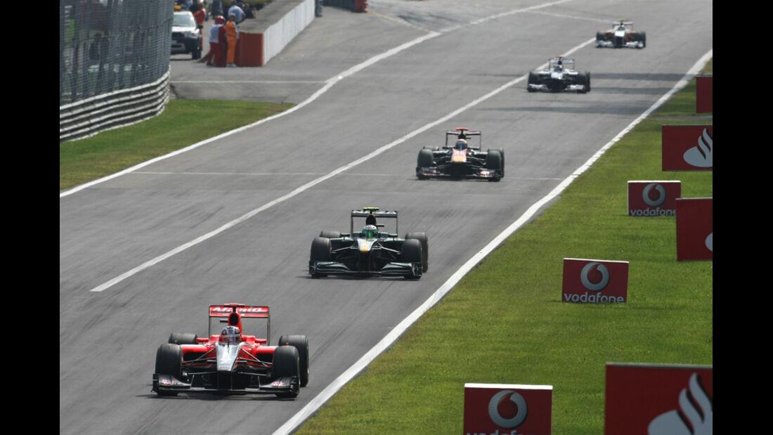 Windschatten Formel 1