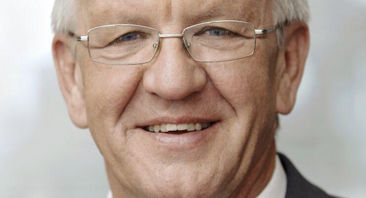 Winfried Kretschmann, Ministerpräsident des Landes Baden-Württemberg