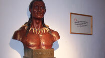 Winnetou-Büste im Karl-May-Museum