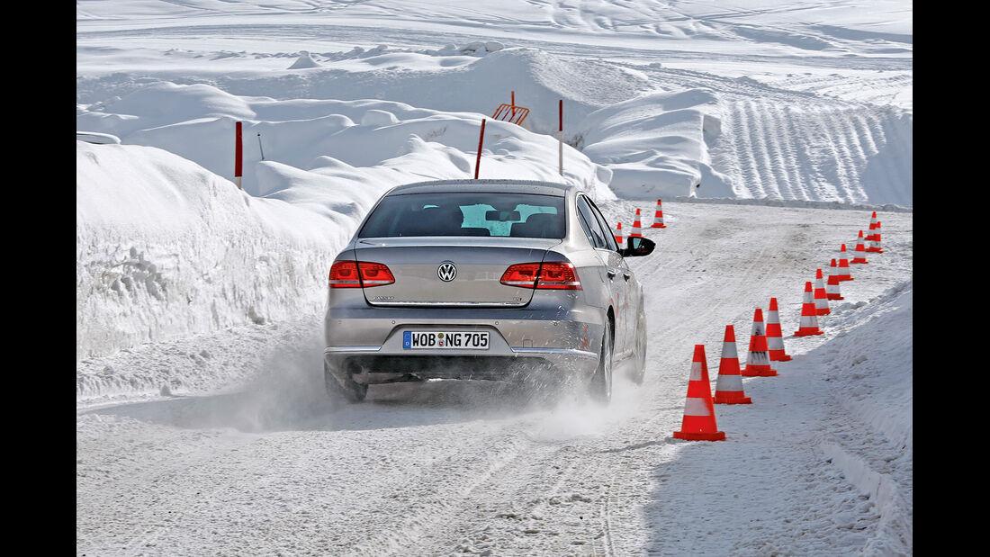 Winter - Schneeketten - VW Passat