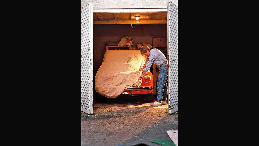 Winter-Tipps für Cabrios, Fahrzeugüberzug
