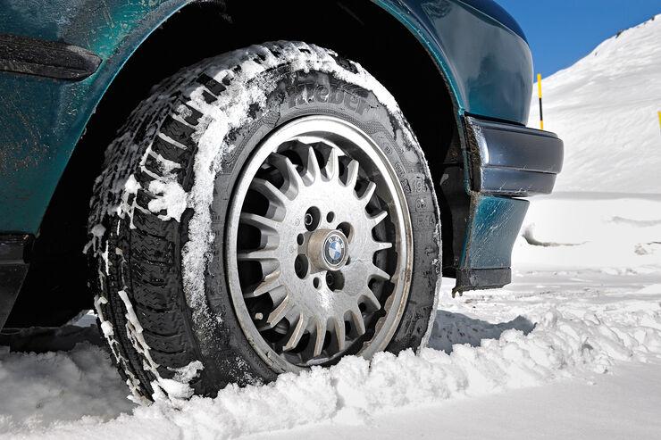 Winter-Tipps für Cabrios, Winterreifen